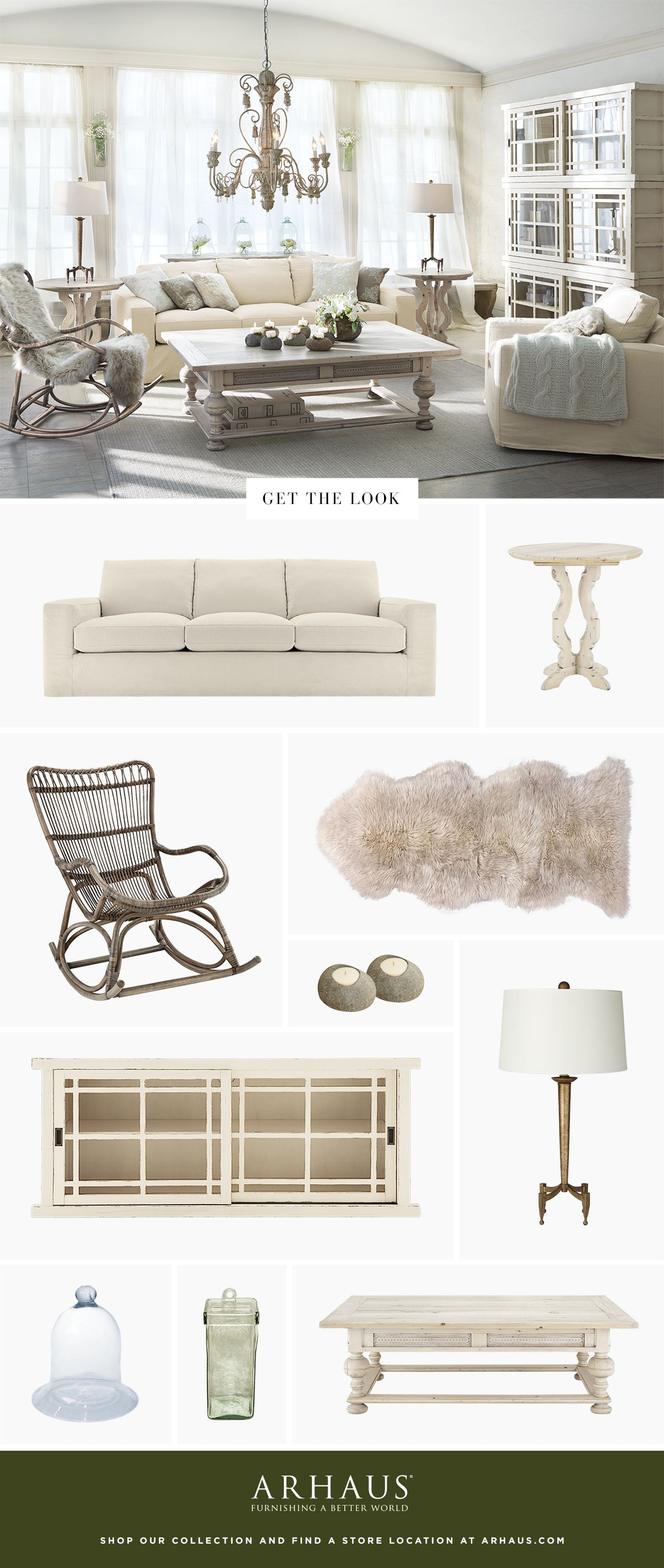 Portico Sofa To The Grace Rocking Chair