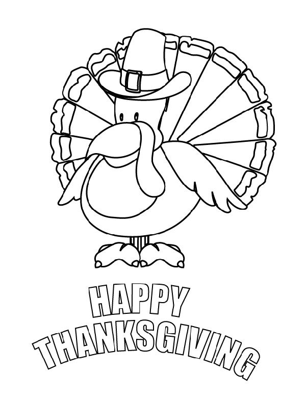 30 Thanksgiving Coloring Pages To Keep Kids Busy So You Can Actually Cook