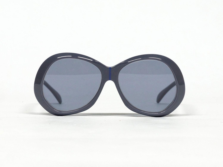 Gray Vintage Sunglasses , SILHOUETTE 54, 70s Eyewear in unworn new ...