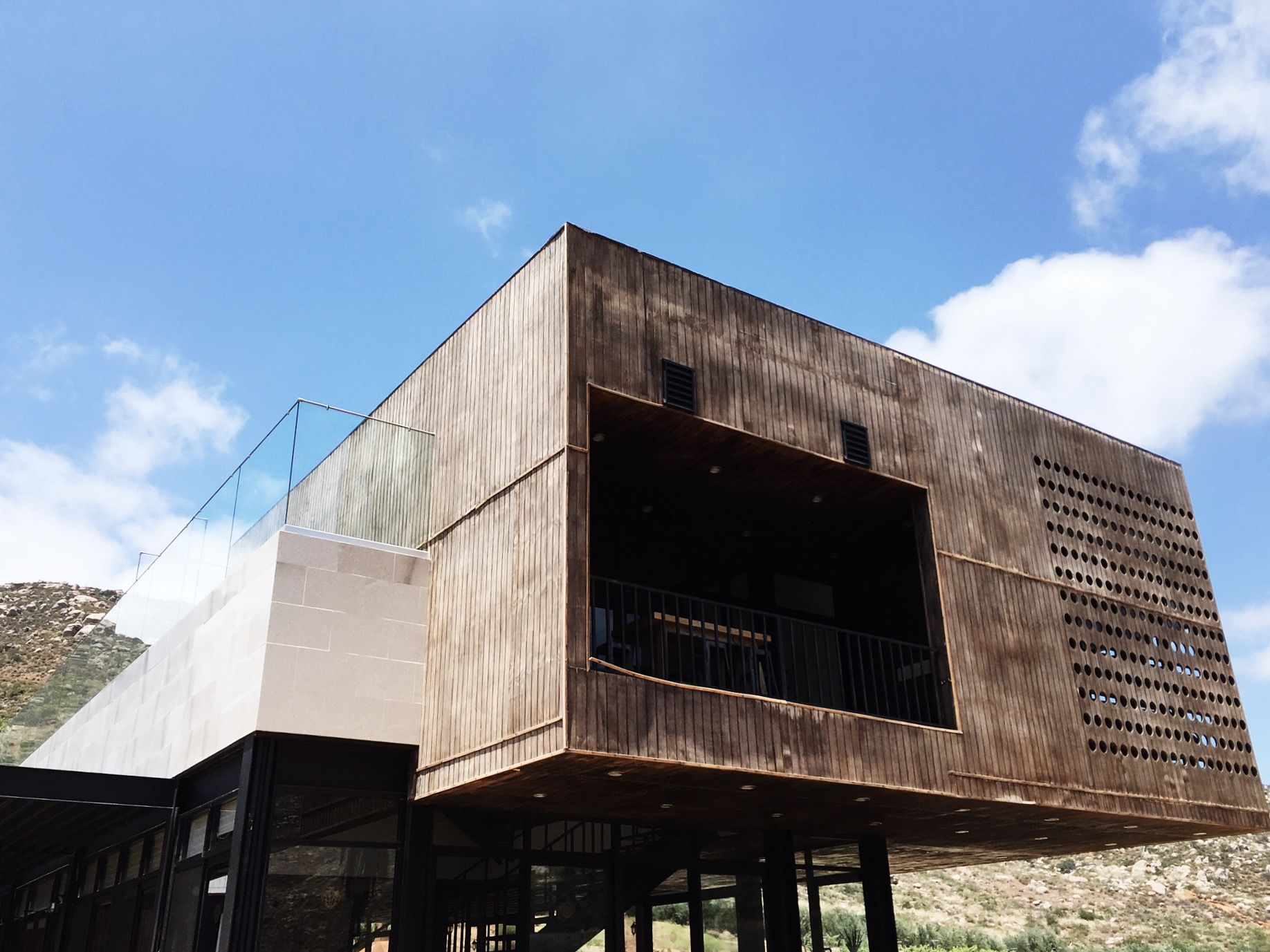 With its streamline design, gorgeous tasting room, and a great outdoor patio that leaves you gazing out at ...