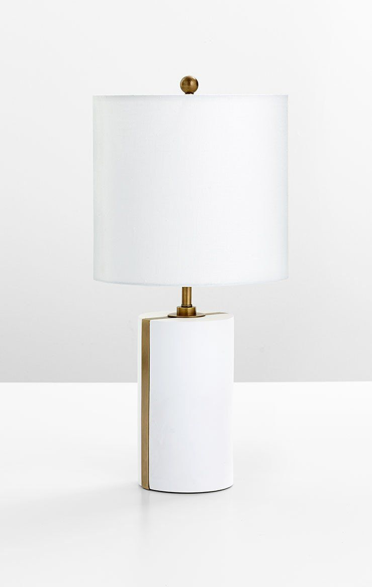 cylindro table lamp design by cyan design in 2019 ny house style rh pinterest com