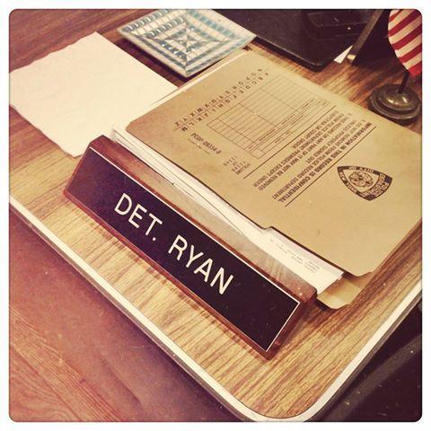 Det. Ryan desk #Castle