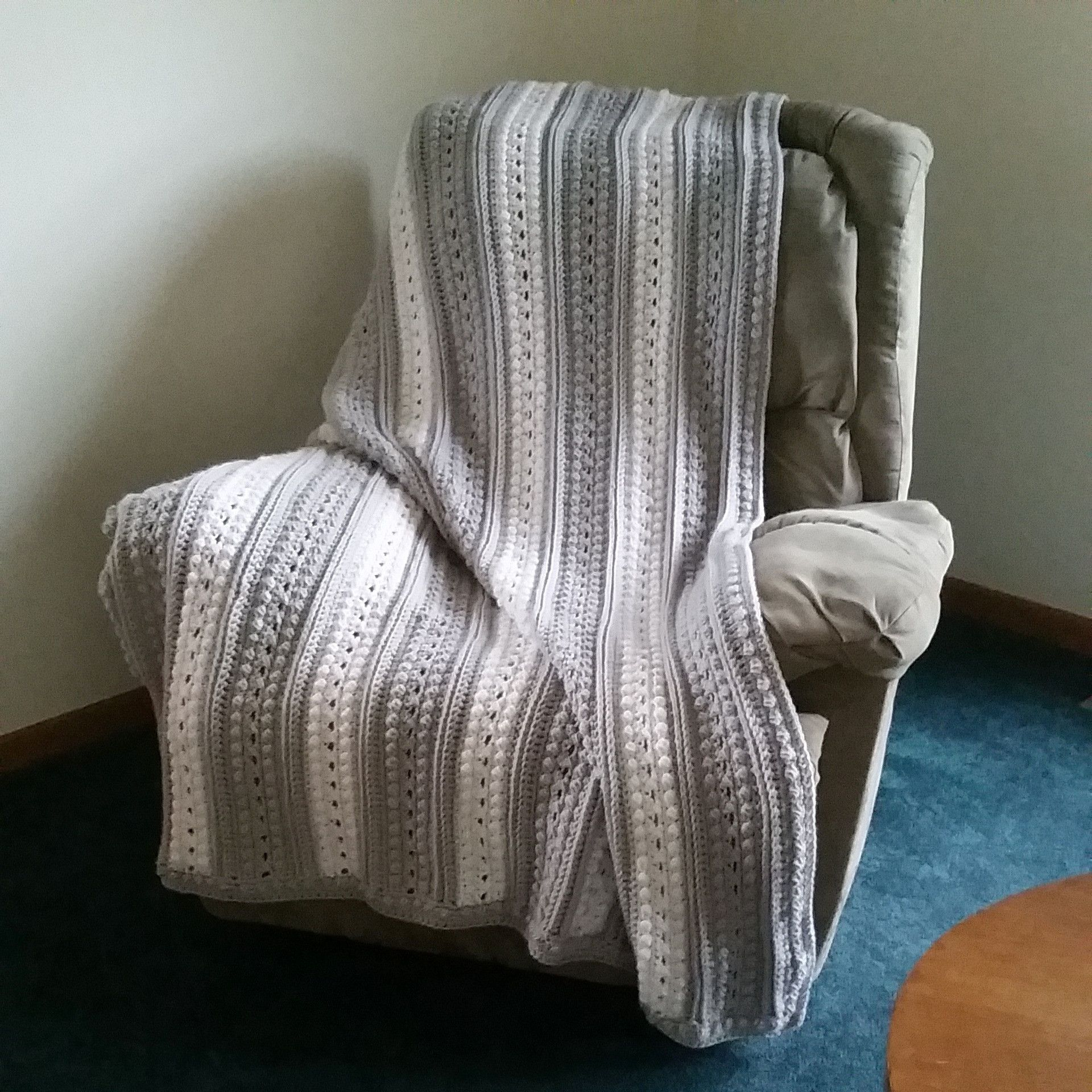 Crochet Aran Afghan | quilts and afghans | Pinterest