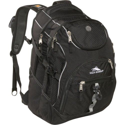cool High Sierra Access Pack ,Black , 20x15x9.5-Inch