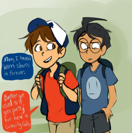 Gravity falls crossover image by Viva on Crossover