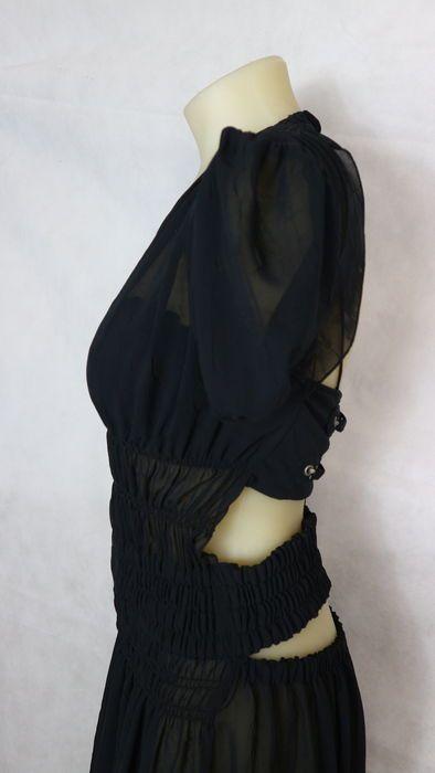 Jean-Paul Gaultier - abito semitrasparente con schiena scoperta ... c52a6eead31