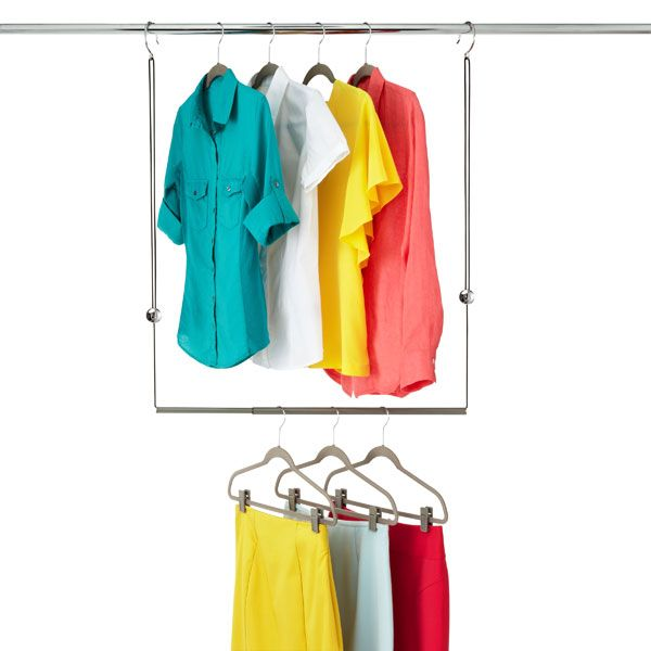 The Container Store Gt Dublet Adjustable Closet Rod