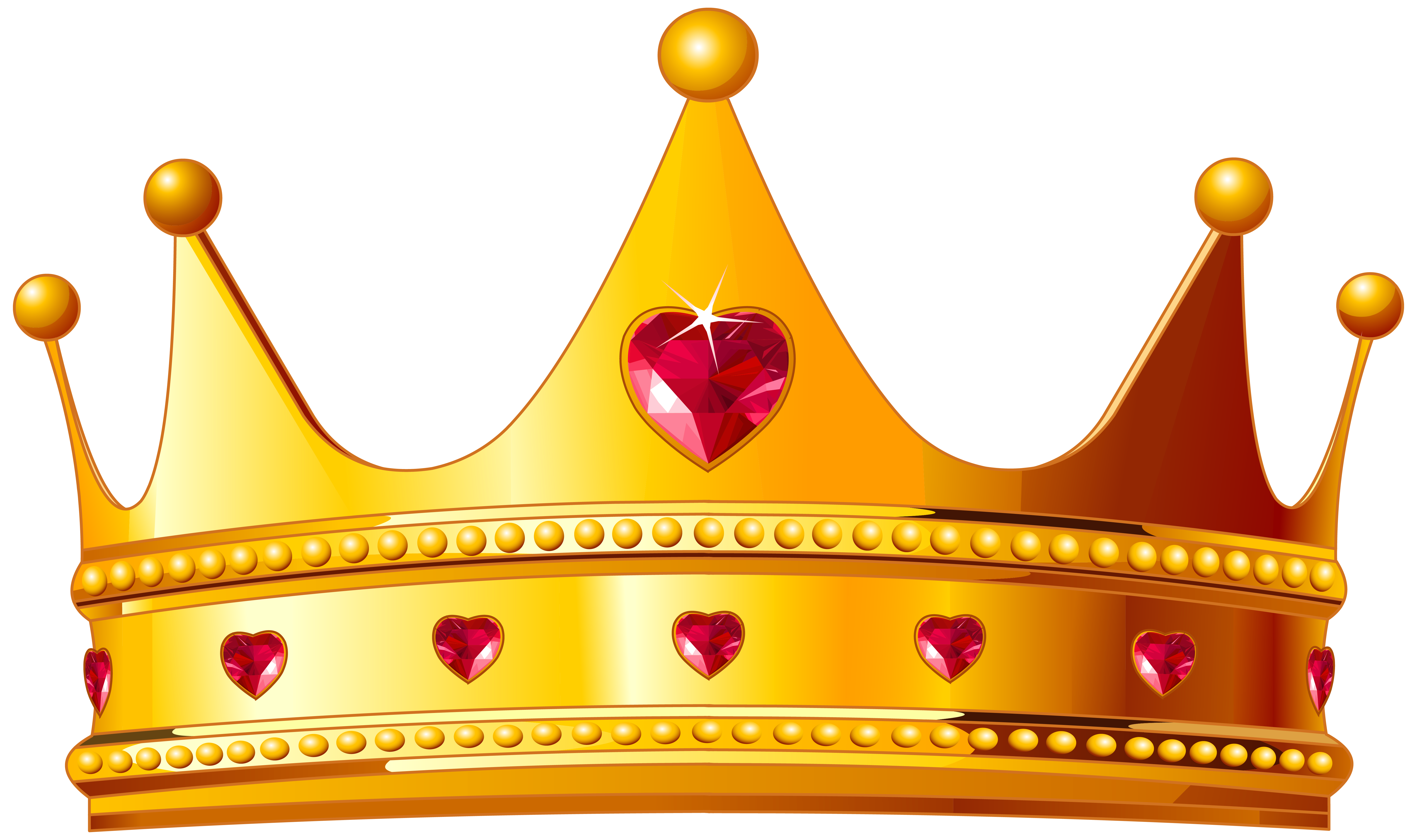 Golden Crown With Hearts Png Clipart Image Crown Png Crown Clip Art Kings Crown King crown free vector we have about (1,222 files) free vector in ai, eps, cdr, svg vector illustration graphic art design format. pinterest