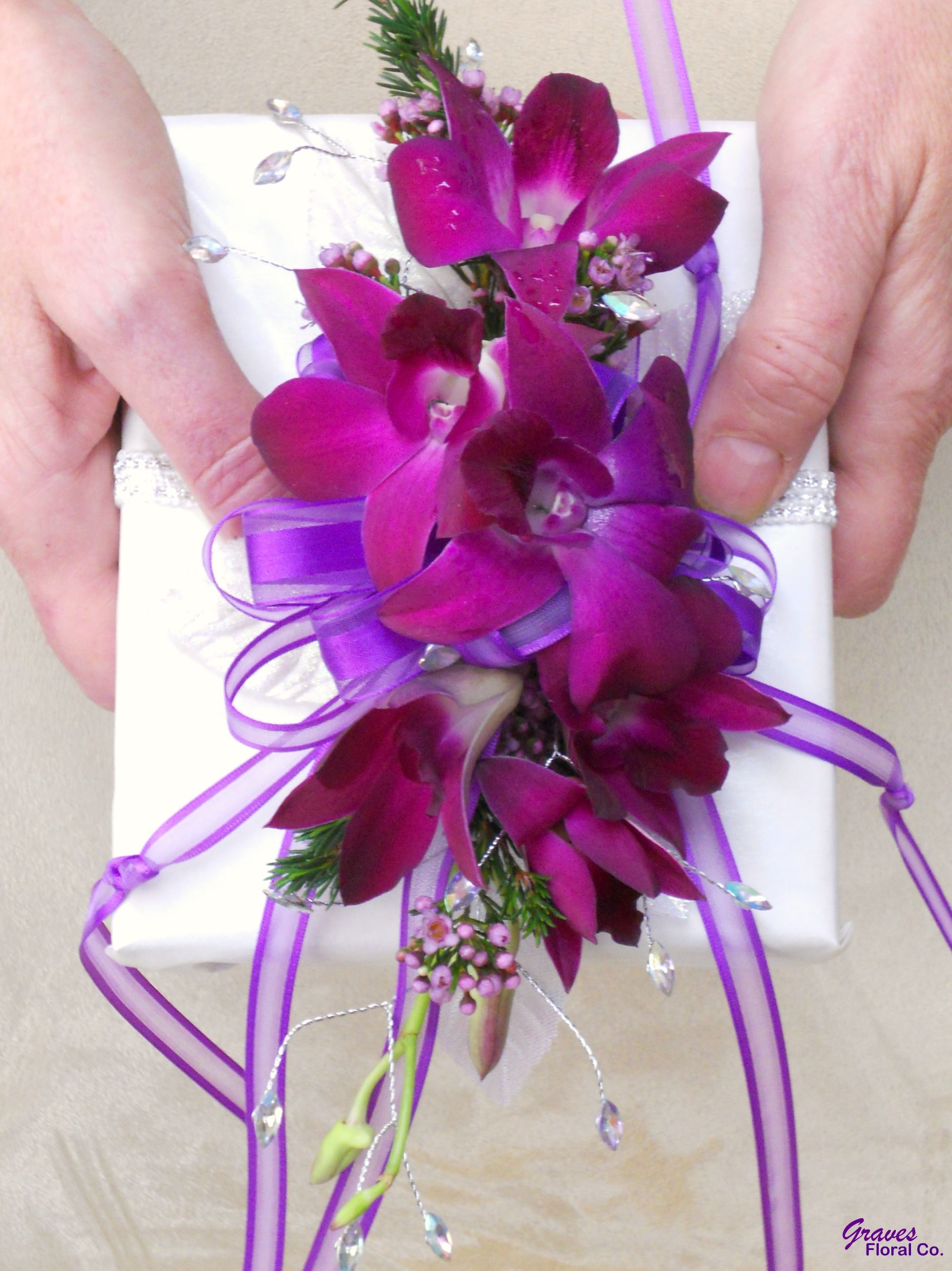 This is one way to do it the flowers will be wisteria bible an alternative to a traditional bridal bouquet fresh flowers for a bible izmirmasajfo Choice Image