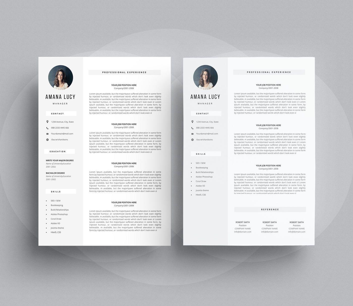 Word resume By Linzo91 resume, Aff,