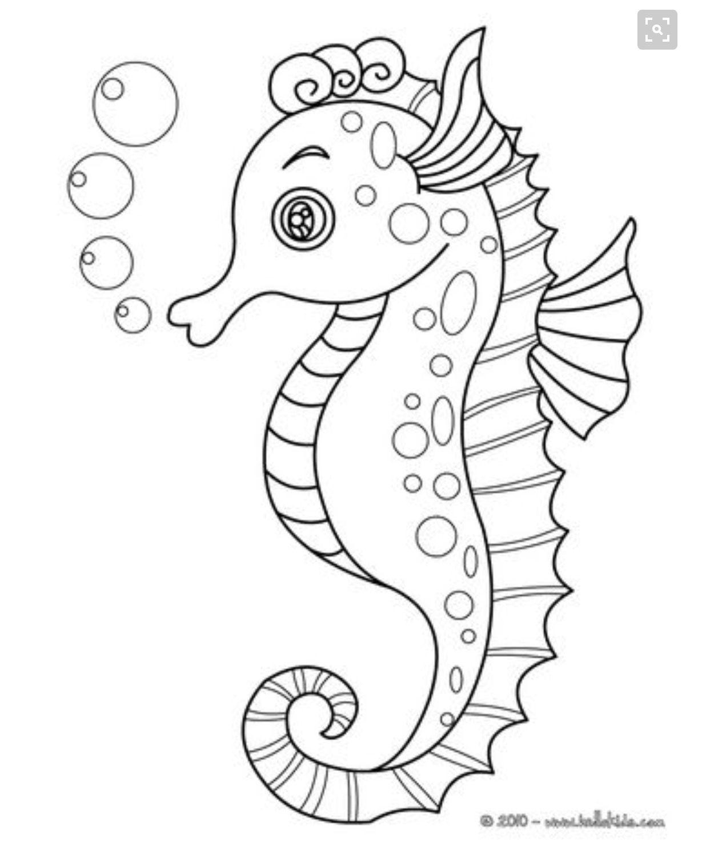 Seepferdchen Schablonen Zeichnungen Ozean Malvorlagen Tier Malvorlagen Malvorlagen Für Kinder Druckbare Kunst Seepferdchen Stickmuster
