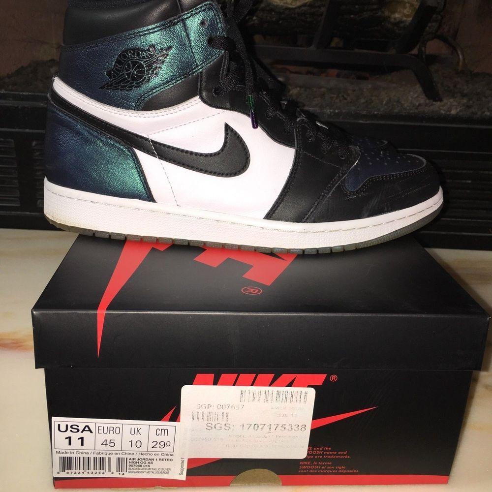 d19d2b55cf8 2017 NIKE Air Jordan 1 Retro High OG All Star Chameleon Size 11 907958 015  #fashion #clothing #shoes #accessories #mensshoes #athleticshoes (ebay link)