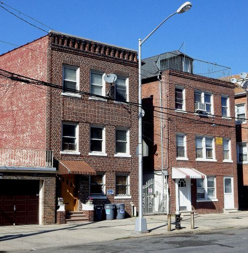 Houses In Pelham Bay, The Bronx.