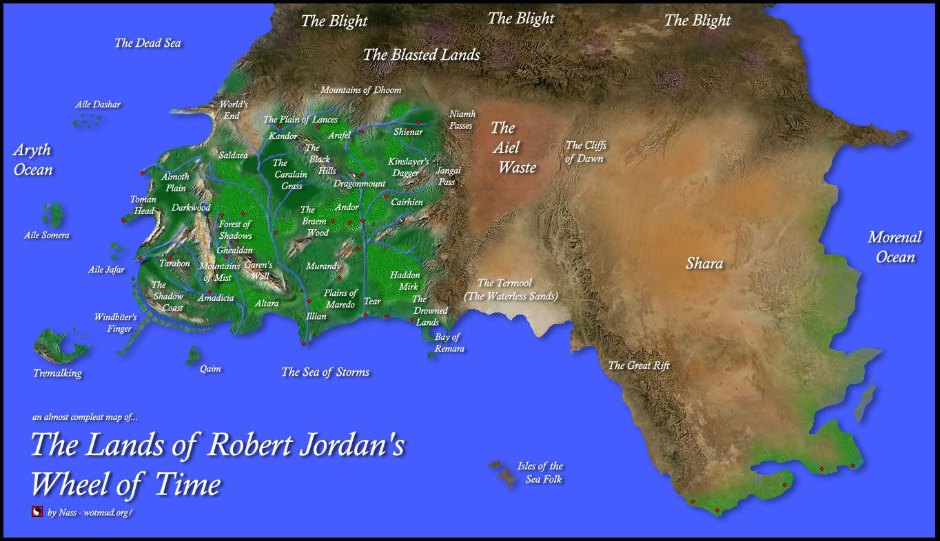 Robert jordan wheel of time map wot pinterest robert jordan robert jordan wheel of time map gumiabroncs Choice Image