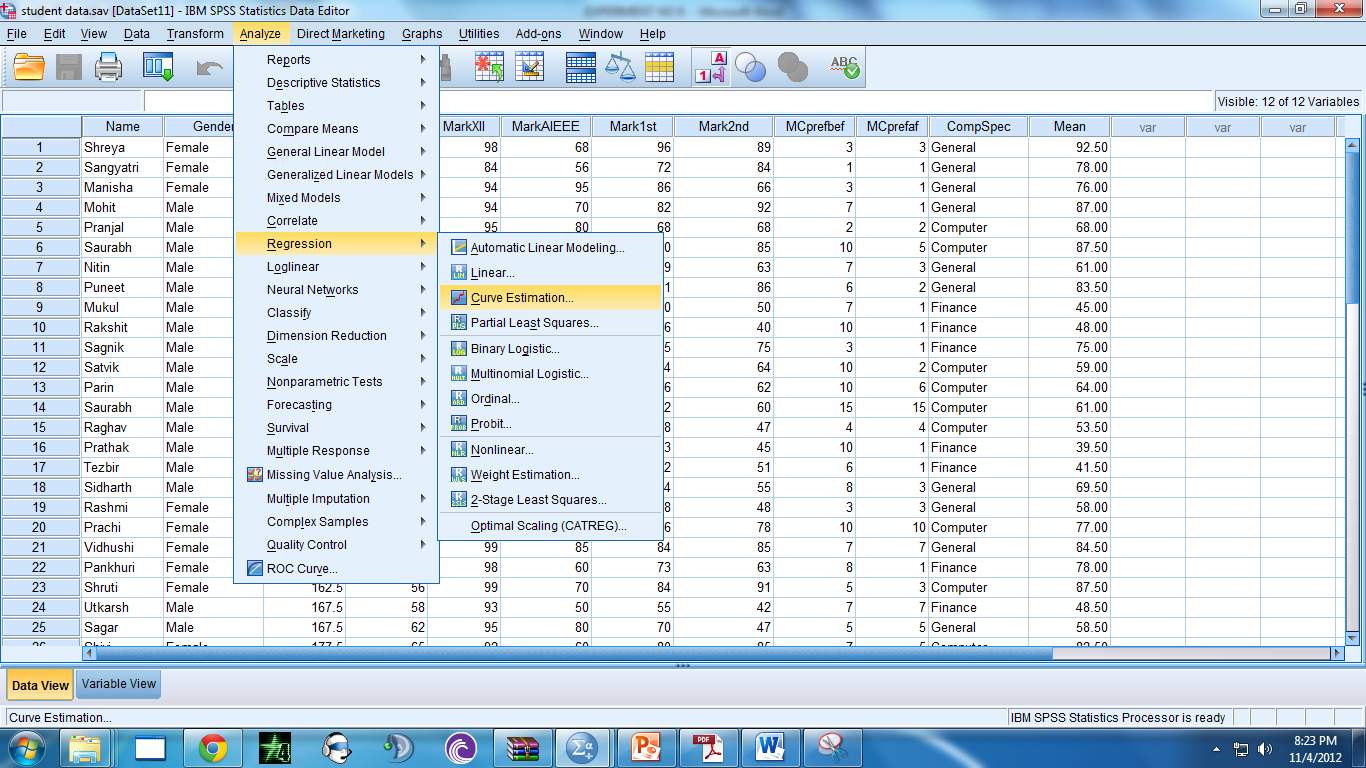 Detailed Spss Tutorials Student Data Quantitative Research