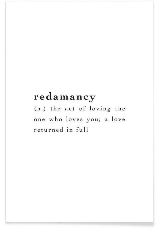 Photo of Redamancy as Premium Poster de JUNIQE | JUNIQE, #als #Inspirationaltattoosword #JUNIQE #Po …