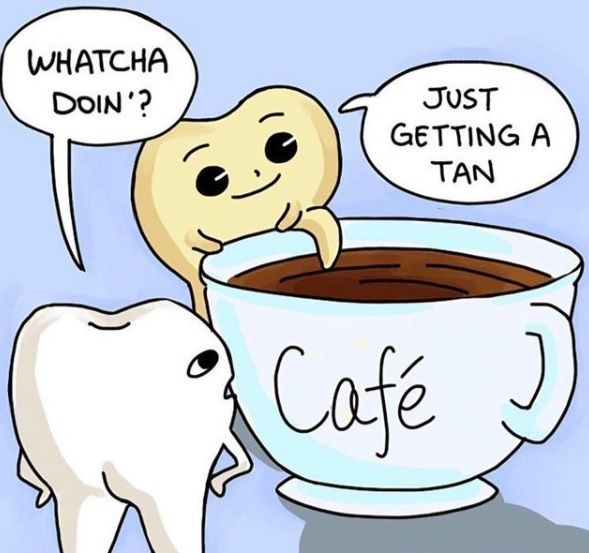 Come in for some #teethwhitening if you love your coffee #dental