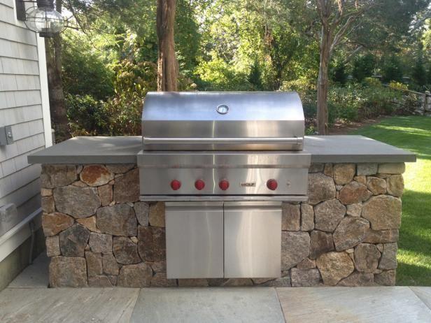 Fieldstone Outdoor Kitchen Outdoor Kitchen Built In Grill Outdoor Entertaining Spaces