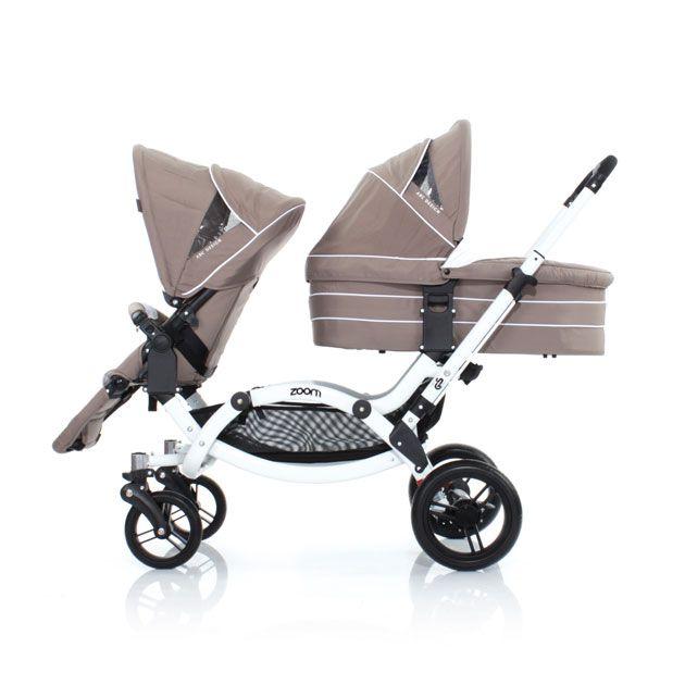 geschwisterwagen zoom zoom double twin buggy maternity. Black Bedroom Furniture Sets. Home Design Ideas