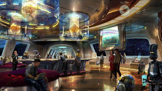 Hotel do Star Wars na Disney