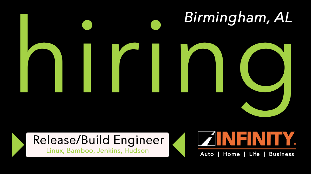 Infinity Insurance Is Hiring For A Release Build Engineer In