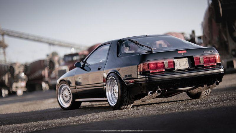 Mazda RX7 Turbo II FC on 105 BBS RS  Mine  Pinterest  On