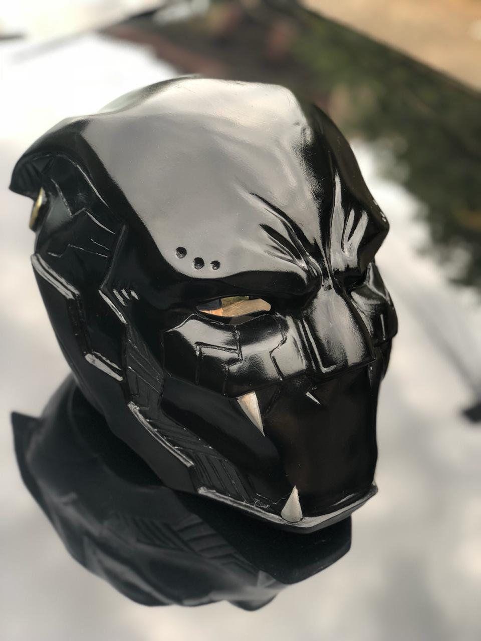 Black panther origins helmet etsy black panther comic