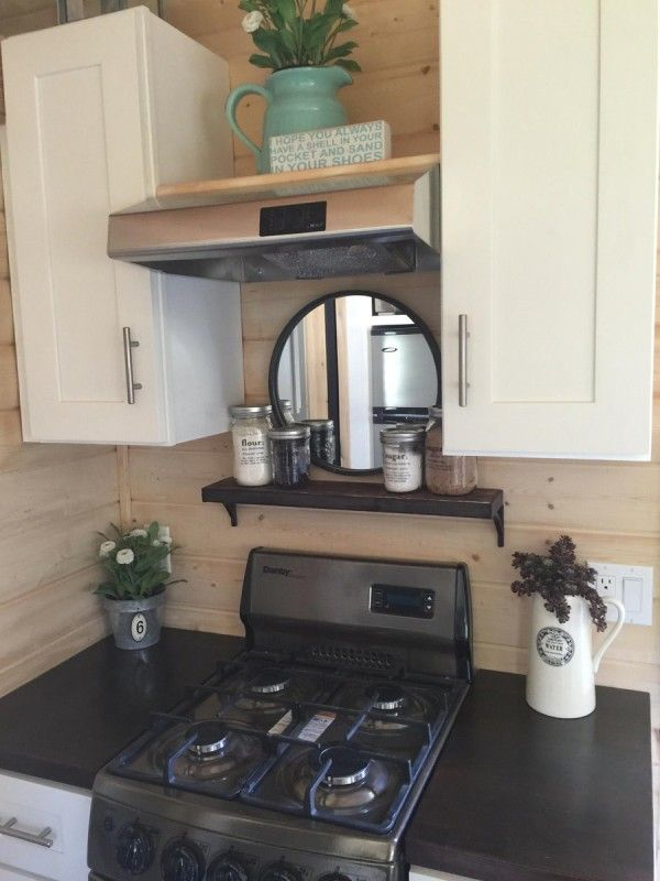 A Tiny House On Wheels With A Total Of 270 Square Feet (including Loft) Of Living  Space In La Mirada, California.