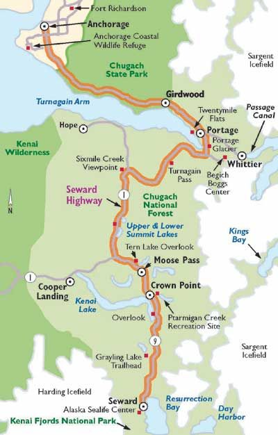 Alaska Scenic Drive Seward Highway Alaska Vacation Alaska Road Trip Alaska Travel