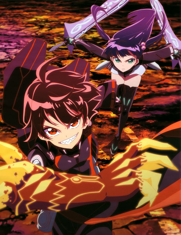 Twin Stars Exorcist Adashino benio, Dibujos de anime