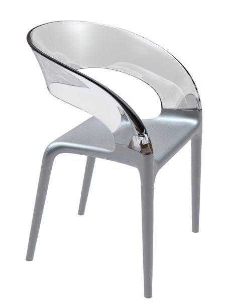 Design Stoelen Philippe Starck.Ring Chair Philippe Starck Driade Plexiglas Meubels Modern