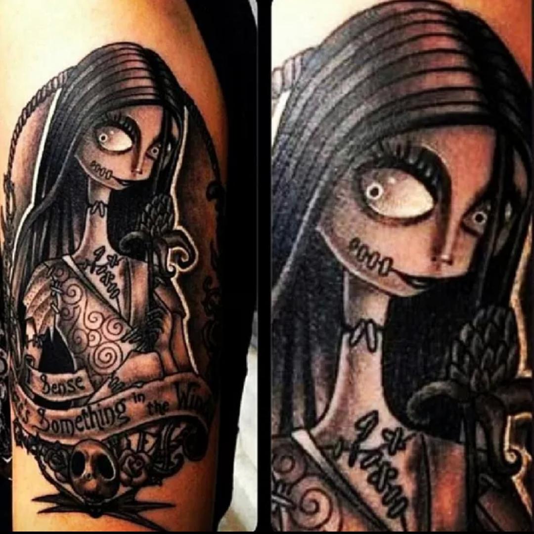 Sally Nightmare Before Christmas Tattoo// Movie Inspired Tattoos ...