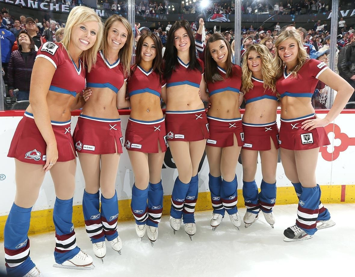 Colorado Avalanche Ice Girls 2 Jpg Jpeg Image 1180 920 Pixels Ice Girls Colorado Avalanche Nhl
