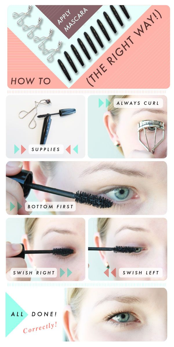 How To Properly Apply Mascara Without Clumping Video How To Apply Mascara Makeup Hacks Mascara Mascara