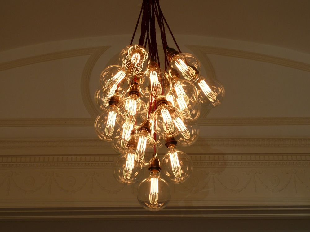 Filament light bulb chandelier inspiration for an upcoming lde filament light bulb chandelier inspiration for an upcoming lde hipster wedding reception aloadofball Image collections
