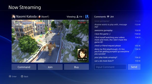 Gaming PlayStation 4 Menu screens in pictures Video