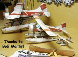 De Havilland DHC-2 Beaver  paper models