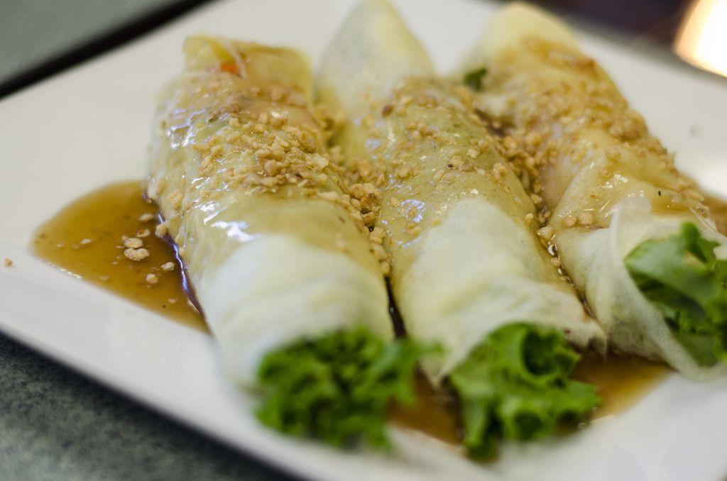 Recipe for a traditional Phillipine dish: Fresh Lumpia