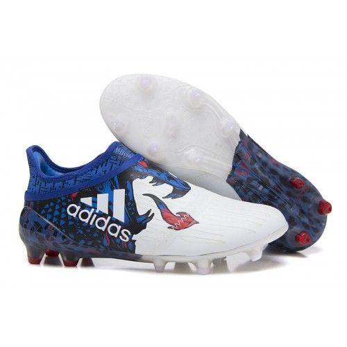 f31319e2770e2c Adidas Calcio 2017 X 16 Purechaos Bianche Blu Rosse