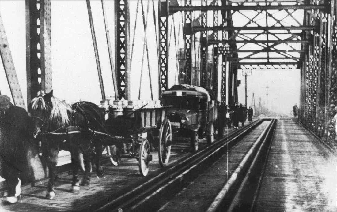Spoorbrug tussen 1930 - 1939