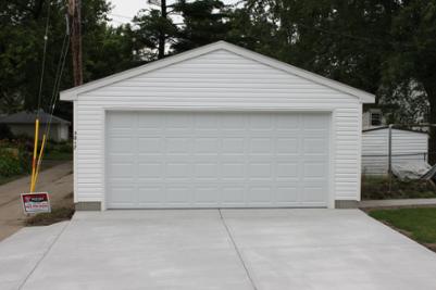 20x22 Detached Minneapolis Garage Garage Door Design Garage