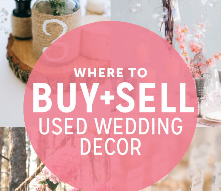 Where To Buy And Sell Used Wedding Decor Online Where To Buy And Sell Used Wedding Decor Online Wedding Decorations For Sale Craigslist Silver Vintage Weddin Di 2020