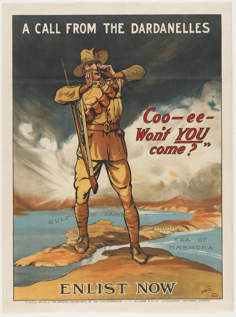 Image Result For World War 1 Recruitment Poster Ww1 Propaganda Posters Anzac Day Propaganda Posters