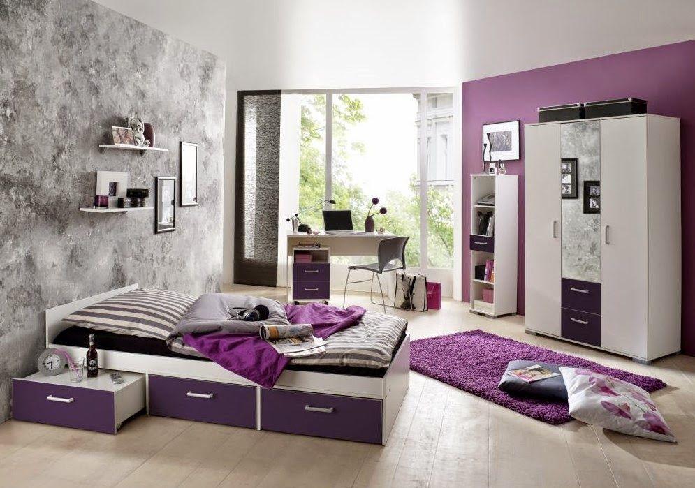 Dormitorio morado10 recamara ni as pinterest cuarto modernos cuartos y colores morados - Lila madchenzimmer ...