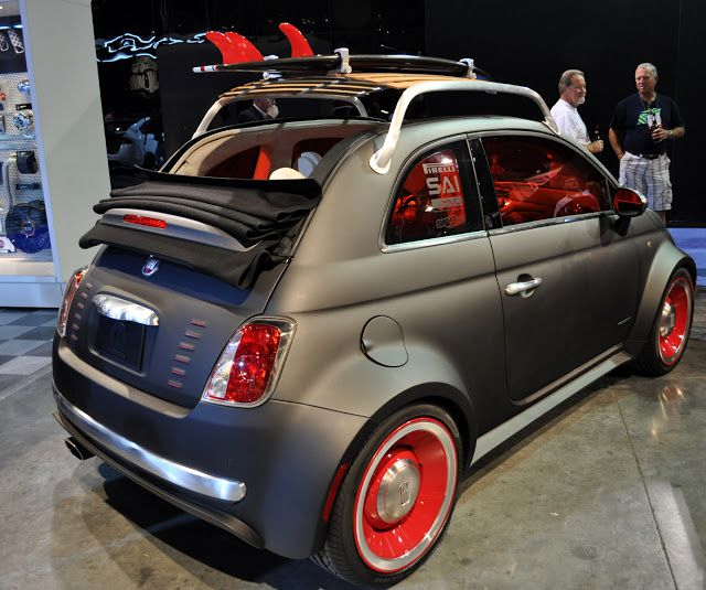 Fiat 500 Beach Cruiser With Images Fiat 500 Fiat Fiat Cars