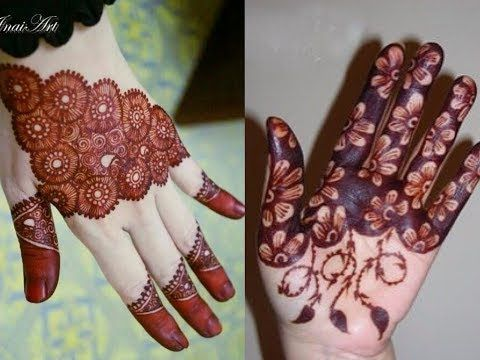 New Stylish Easy Mehndi Henna Designs For Beginners Beautiful