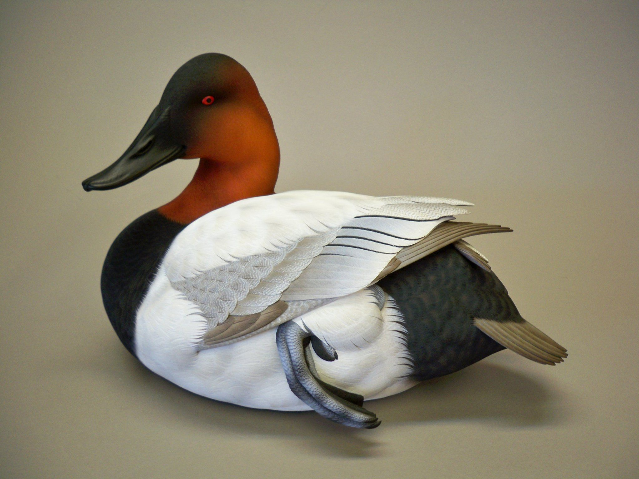 Bluebill Duck Decoy Galatas Limited Edition Lodge Den Home Decor Office New
