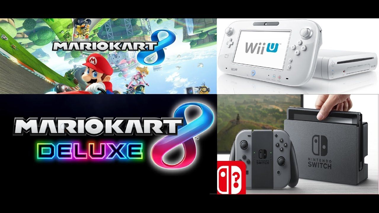 Mario Kart 8 Wiiu Vs Switch Graphics Comparison