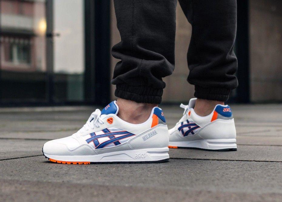Asics Gel Saga White Asics Blue Sneakers Men Fashion White Shoes Men Asics Running Shoes