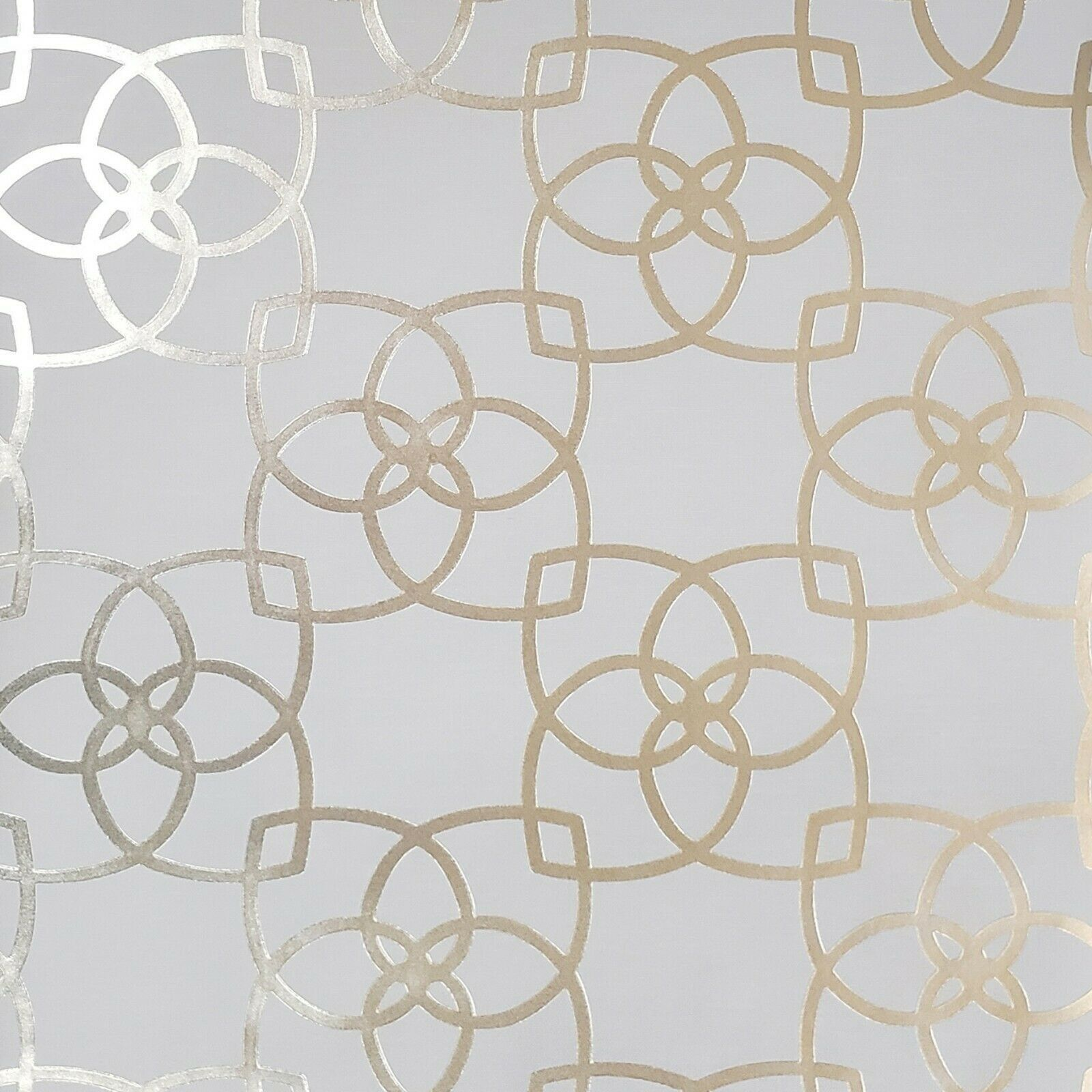 Contemporary Geometric lines modern wallpaper tan gold